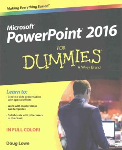 PowerPoint 2016 for Dummies (Paperback)