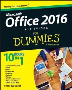 Office 2016 All-in-One for Dummies (Paperback)