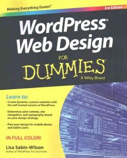WordPress Web Design for Dummies (Paperback)