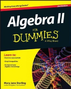 Algebra II for Dummies (Paperback)