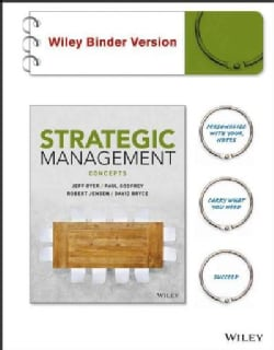 Strategic Management: Concepts Brv (Paperback)
