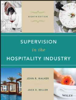 Supervision in the Hospitality Industry (Hardcover)
