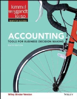 Accounting: Tools for Business Decision Making (Other book format)