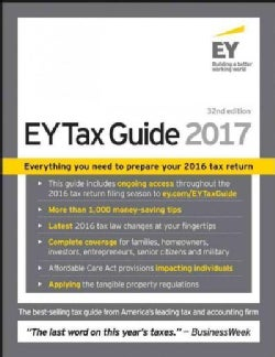 The EY Tax Guide 2017 (Paperback)
