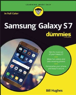 Samsung Galaxy S7 for Dummies (Paperback)
