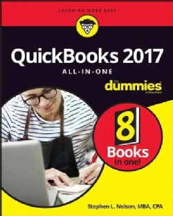 Quickbooks 2017 All-in-One for Dummies (Paperback)