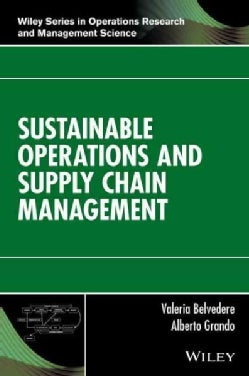 Sustainable Operations and Supply Chain Management (Hardcover)