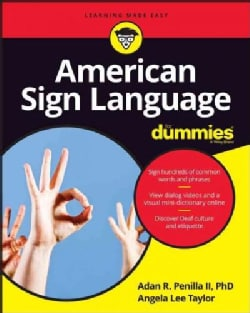 American Sign Language for Dummies (Paperback)
