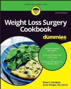Weight Loss Surgery Cookbook for Dummies (Paperback)