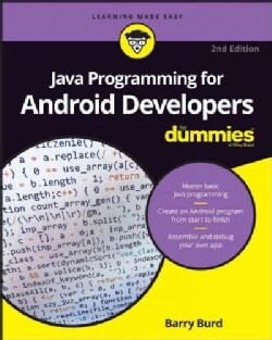 Java Programming for Android Developers for Dummies (Paperback)