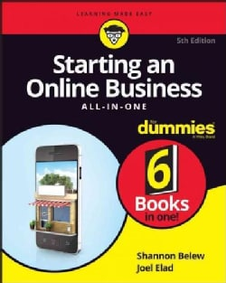 Starting an Online Business All-in-One for Dummies (Paperback)