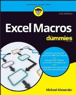 Excel Macros for Dummies (Paperback)