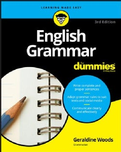 English Grammar for Dummies (Paperback)