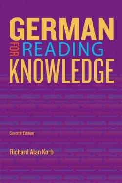 German for Reading Knowledge (Paperback)