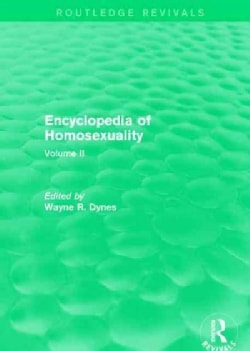 Encyclopedia of Homosexuality (Paperback)