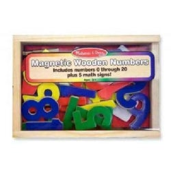 Magnetic Wooden Numbers (Toy)