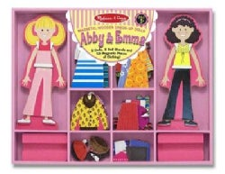 Abby & Emma Magnetic Dress-up (Toy)