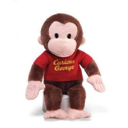 """Curious George Red Shirt: 12"""" Plush (Soft toy)"""
