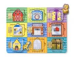 Magnetic Hide & Seek Board (Toy)