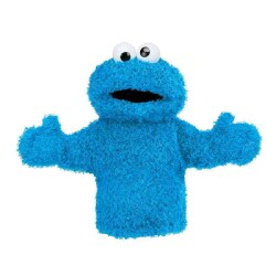 "Cookie Monster Hand Puppet: 11"" Doll (Soft toy)"