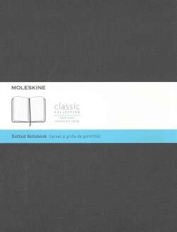 Moleskine Classic Notebook, Extra Large, Dotted, Black (Notebook / blank book)