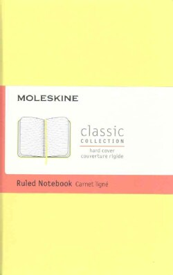 Moleskine Classic Notebook, Pocket, Ruled, Citron Yellow (Notebook / blank book)