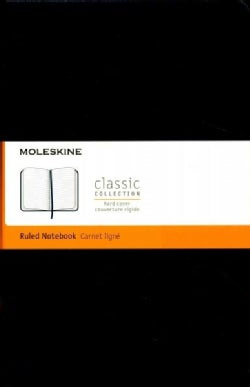 Moleskine Classic Notebook, Large, Ruled, Sapphire Blue (Notebook / blank book)