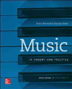 Music in Theory and Practice + Workbook (Paperback)