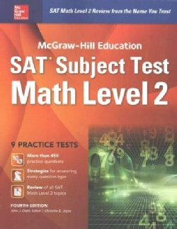 Mcgraw-Hill Education SAT Subject Test Math Level 2 (Paperback)