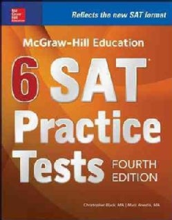 McGraw-Hill Education 6 SAT Practice Tests (Paperback)