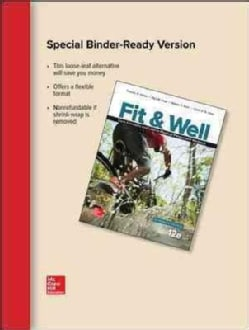 Fit & Well: Core Concepts and Labs in Physical Fitness and Wellness Edition (Loose-leaf)