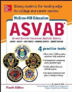 McGraw-Hill's ASVAB: Armed Services Vocational Aptitude Battery (Paperback)