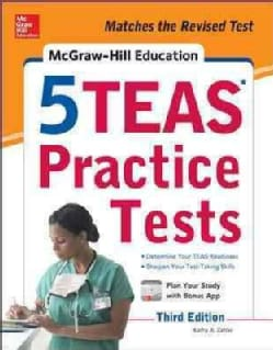 McGraw-Hill Education 5 TEAS Practice Tests (Paperback)