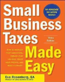 Small Business Taxes Made Easy (Paperback)
