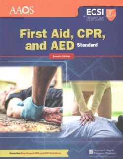 First Aid, CPR, and AED (Paperback)