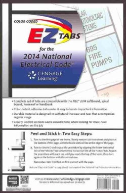 National Electrical Code Color Coded EZ Tabs 2014 (Paperback)