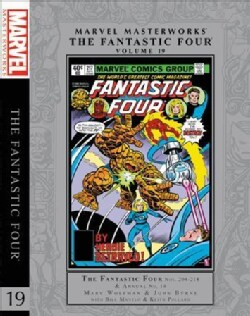 Marvel Masterworks the Fantastic Four 19 (Hardcover)