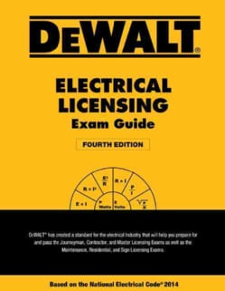 DeWalt Electrical Licensing Exam Guide: Based on the National Electrical Code 2014 (Paperback)