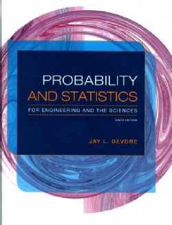 Probability and Statistics for Engineering and the Sciences + Enhanced WebAssign Statistics