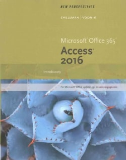 New Perspectives Microsoft Office 365 & Access 2016: Introductory (Paperback)