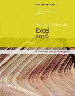 New Perspectives Microsoft Office 365 & Excel 2016: Introductory (Paperback)