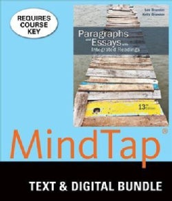 Paragraphs and Essays With Integrated Readings + Mindtap Developmental English, 1 Term 6 Month Printed Access Card