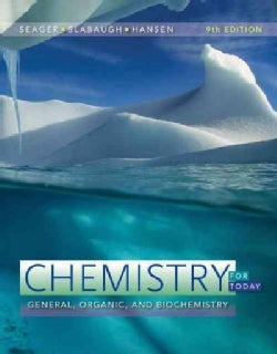 Chemistry for Today: General, Organic, and Biochemistry (Hardcover)