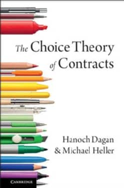 The Choice Theory of Contracts (Paperback)