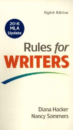 Rules for Writers: 2016 MLA Update (Paperback)