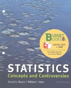 Statistics: Concepts and Controversies