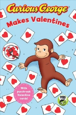 Curious George Makes a Valentine (Hardcover)