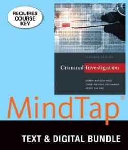 Criminal Investigation + Lms Integrated for Mindtap Criminal Justice, 1 Term 6 Month Printed Access Card