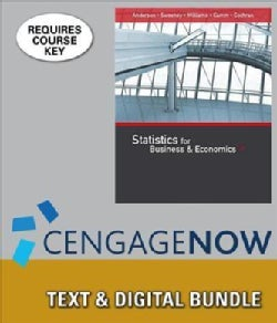 Statistics for Business & Economics + Cengagenow,, 1-term Access