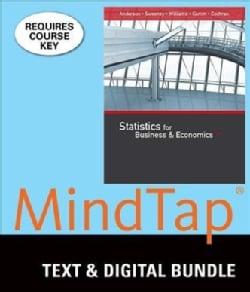 Statistics for Business & Economics + Lms Integrated Mindtap Business Statistics, 2-term Access